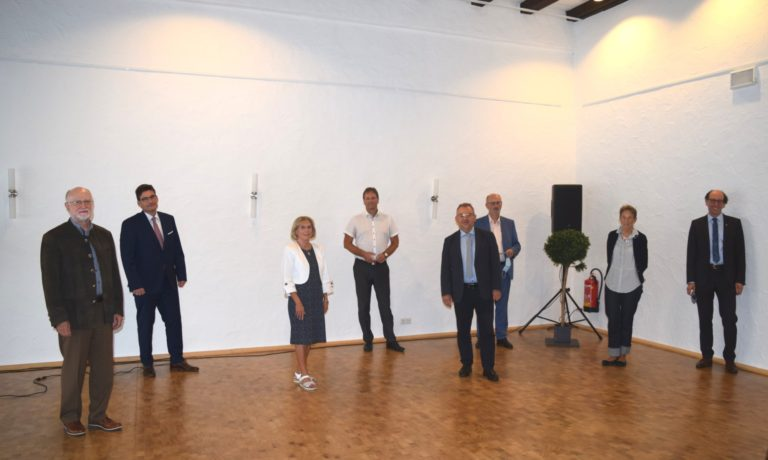Spendenübergabe der Julius-Würth-Stiftung