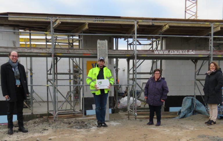 Grundsteinlegung in Crailsheim